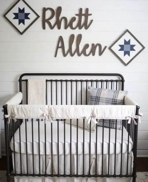 Fantastic elegant baby boy nursery ideas