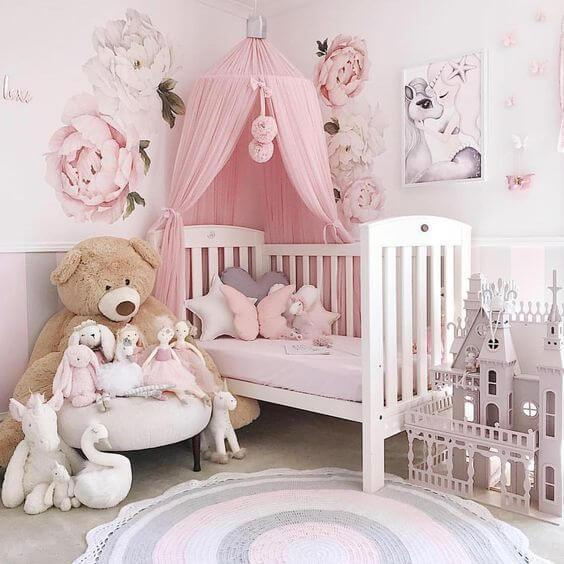 Adorable Nursery Idea: 50 Inspiring Nursery Ideas For Your Baby Girl