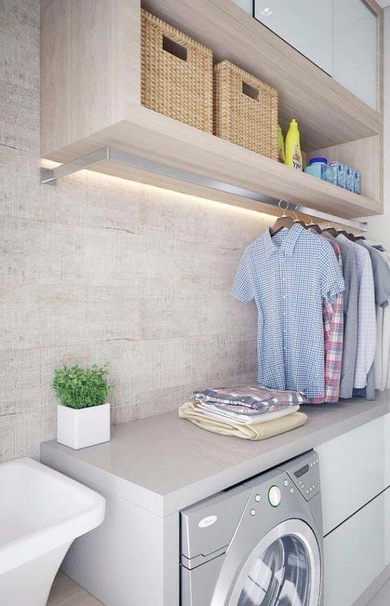 Uplifting small laundry room drying rack ideas