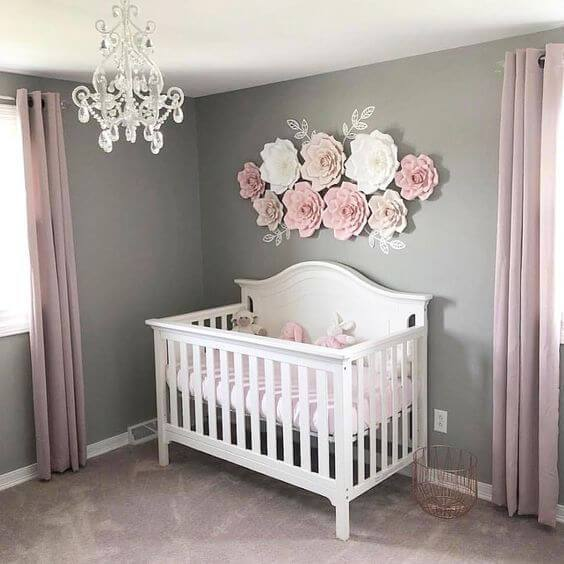 Ideas And Designs For Girls: 50 Inspiring Nursery Ideas For Your Baby Girl