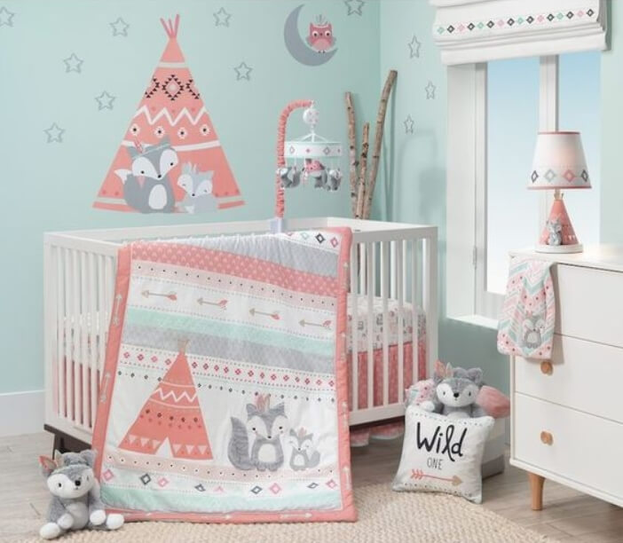 Baby Nursery Design Ideas And Inspiration: 50 Inspiring Nursery Ideas For Your Baby Girl