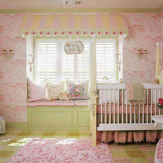Adorable Nursery Idea: 50 Inspiring Nursery Ideas For Your Baby Girl