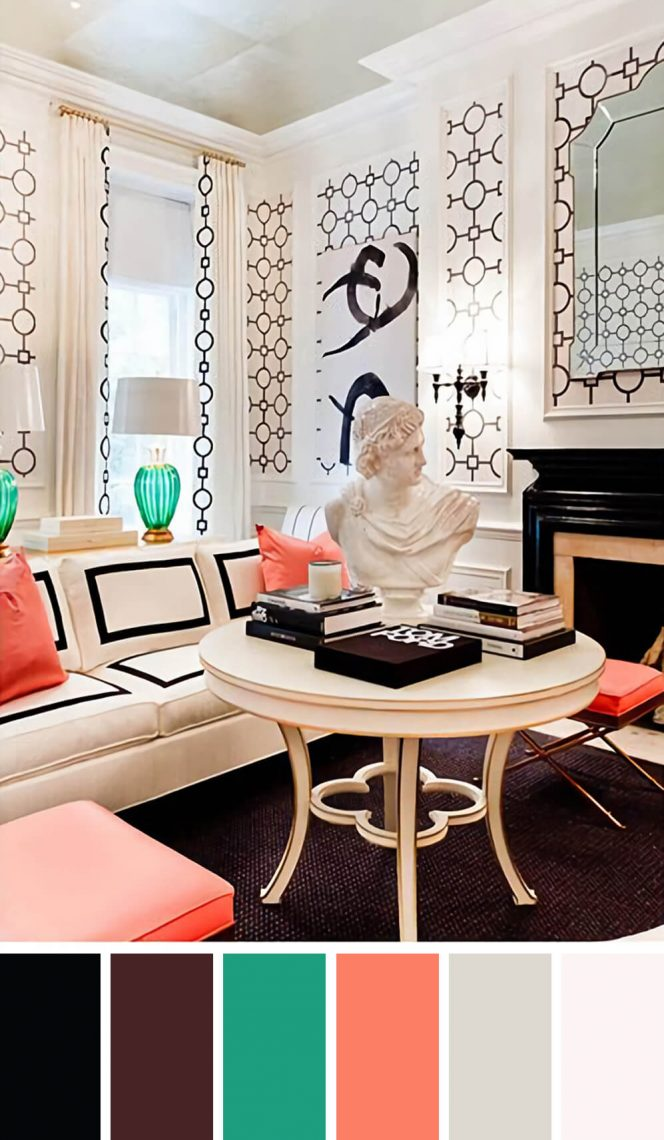 Spectacular living room color decorating ideas