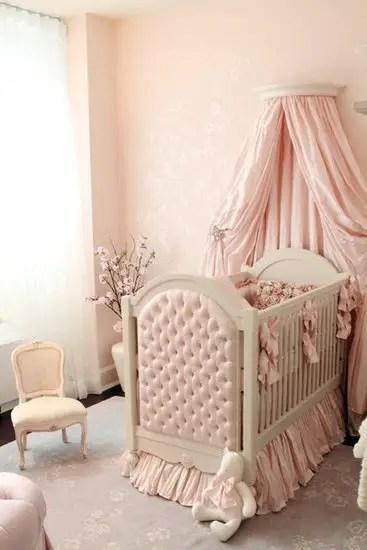 Lovely Baby Girl Nursery