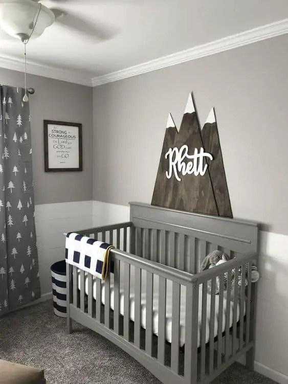 Newborn Baby Boy Room