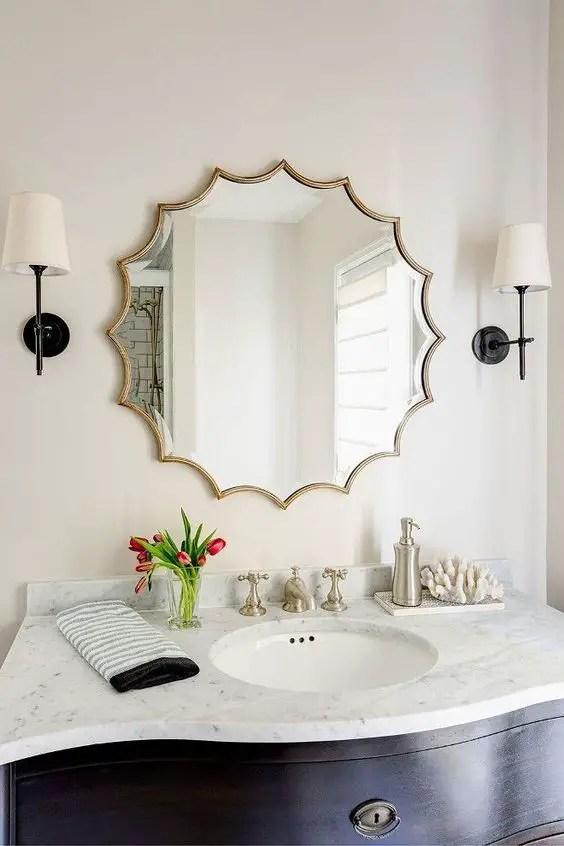 Eye-opening bathroom mirror designs pictures #bathroom #mirror #vanity #bathroomdesign #bathroomremodel #bathroomideas