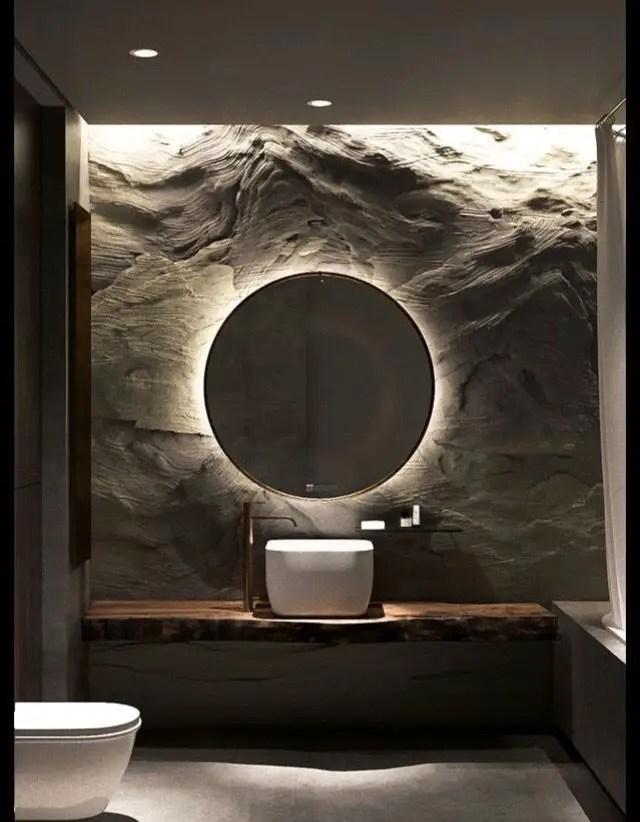 Wonderful bathroom mirror shelf ideas #bathroom #mirror #vanity #bathroomdesign #bathroomremodel #bathroomideas