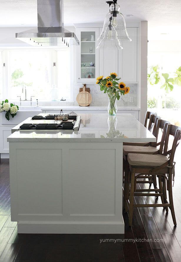 Kitchen Island Ideas With Stove