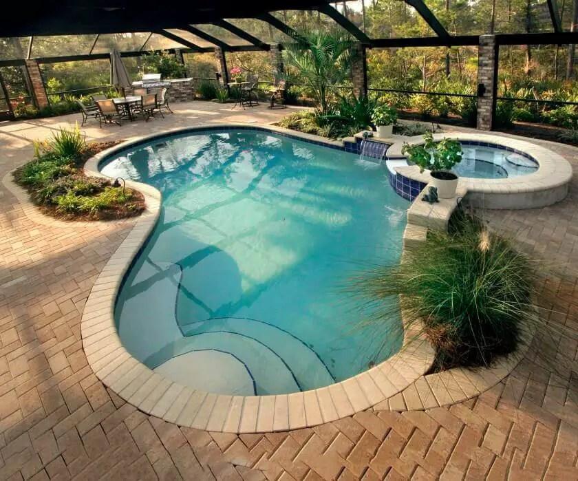 Pool Patio Ideas Build