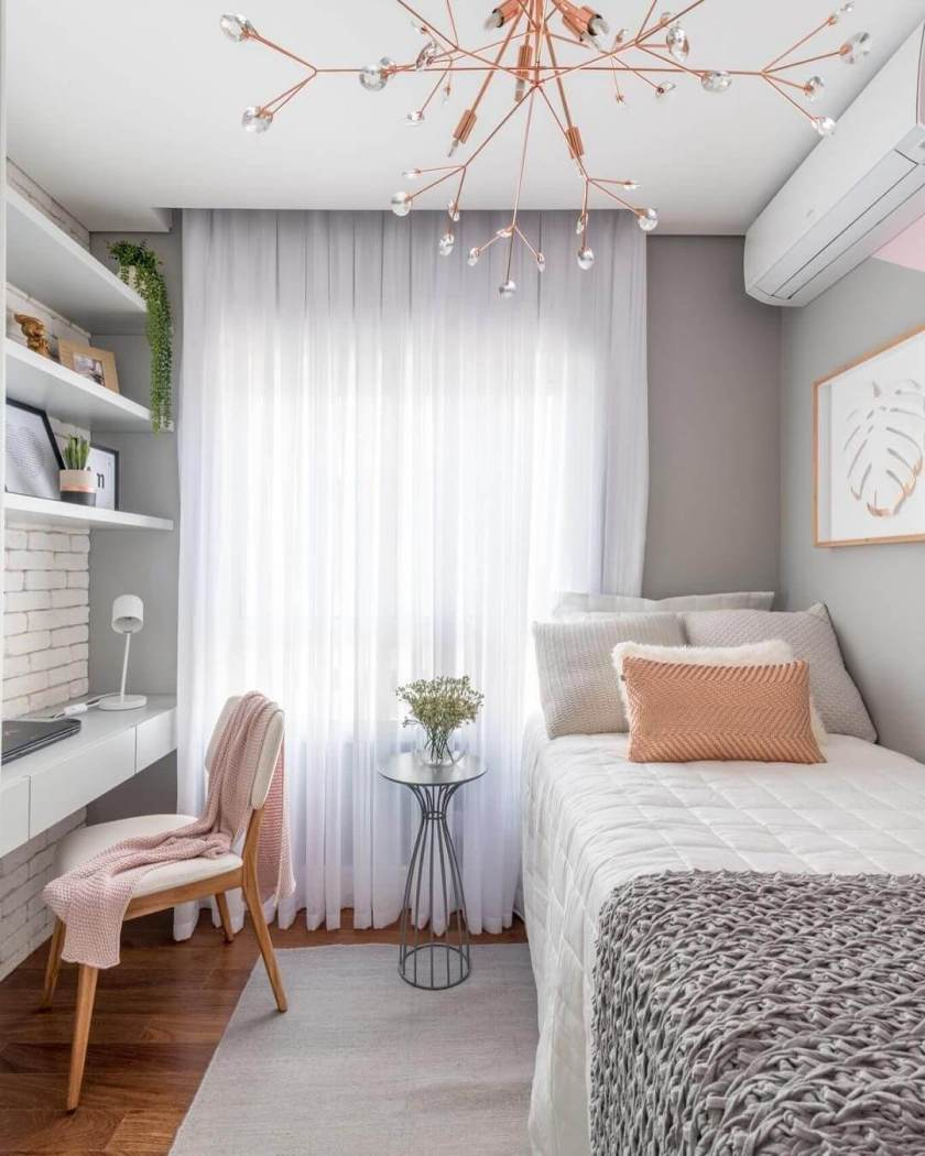 Eye-opening small bedroom organization ideas