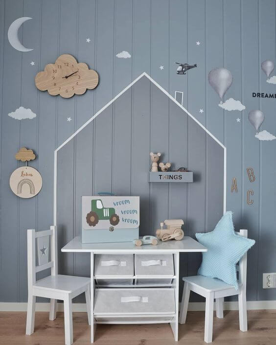 kids room decorating ideas for studying