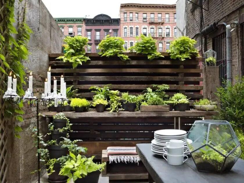 outdoor patio garden ideas