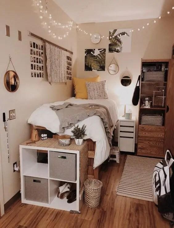 Uplifting small bedroom ideas design