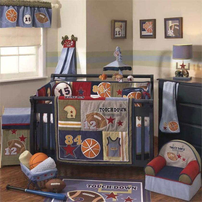 Sports Baby Boy Nursery Ideas: 25 Gorgeous Baby Boy Nursery Ideas To Inspire You
