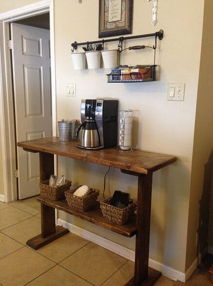 Fabulous 30 Best Home Coffee Bar Ideas For All Coffee Lovers Gmtry Best Dining Table And Chair Ideas Images Gmtryco