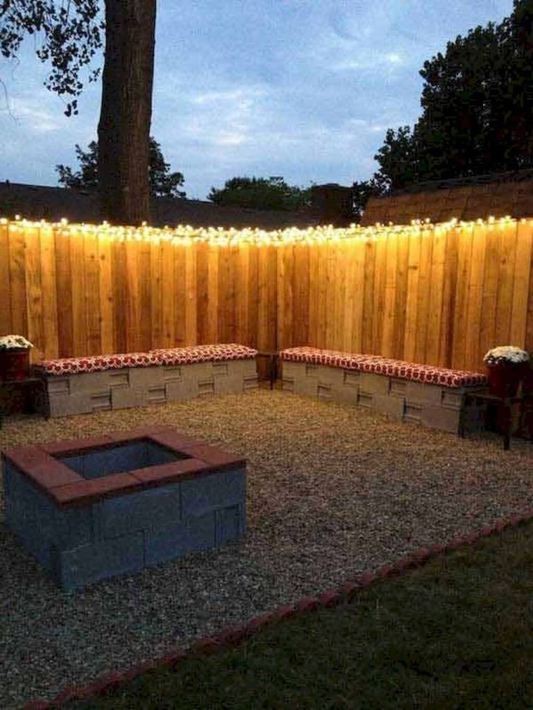 Make a Statement of Private Space - small backyard patio ideas on a budget