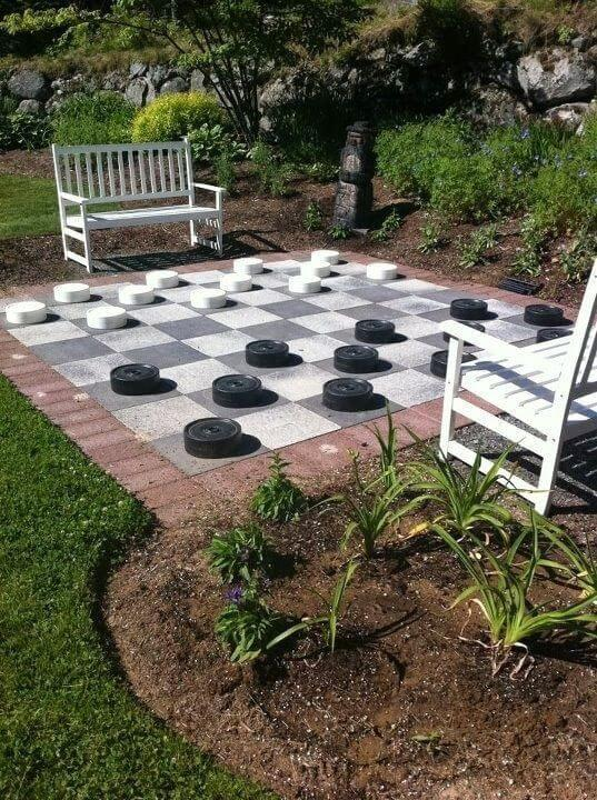 Build a Backyard Game - small backyard ideas landscaping
