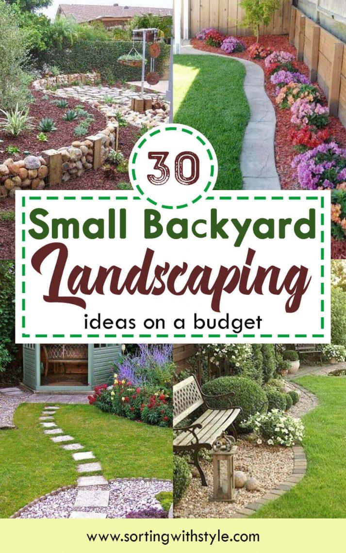 30 Small Backyard Landscaping Ideas On A Budget Beautiful