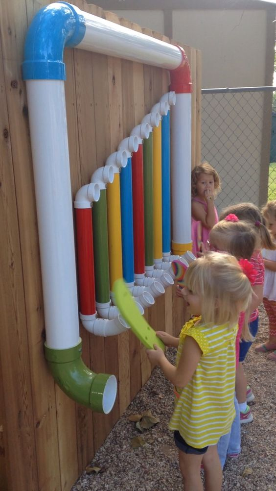 Backyard Playsets Idea from Pipes
