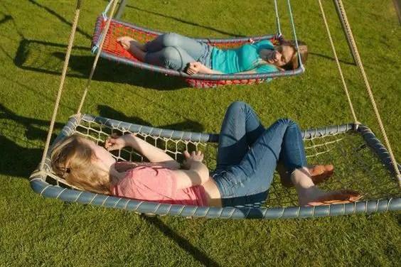 hammocks - children's backyard playground