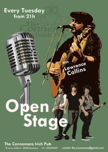 OPEN STAGE @ The Connemara Irish Pub | Bordeaux | France
