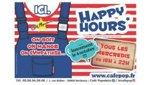 L'Apéro du Mercredi @ Le Café Populaire | Bordeaux | Nouvelle-Aquitaine | France