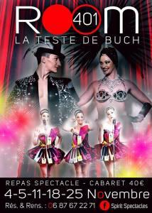 Dîner Spectacle Cabaret Avec Les Lady Paris @ ROOM 401 Cabaret   La Teste-de-Buch   Nouvelle-Aquitaine   France