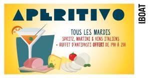A P E R I T I V O avec LALA SOUND @ IBOAT | Bordeaux | Nouvelle-Aquitaine | France