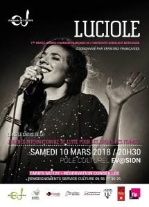 Luciole (Slam) @ Pôle Culturel Ev@sion | Ambarès-et-Lagrave | Nouvelle-Aquitaine | France