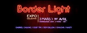 Border Light ⌇ Exposition collective @ Art Social Club. | Bordeaux | Nouvelle-Aquitaine | France
