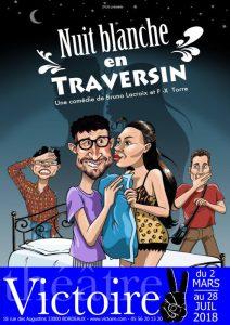 NUIT BLANCHE EN TRAVERSIN @ THEATRE VICTOIRE | Bordeaux | Nouvelle-Aquitaine | France