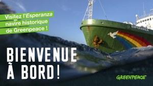 Montez à bord du bateau Greenpeace à Bordeaux @ Quai du Maréchal Lyautey   Bordeaux   Nouvelle-Aquitaine   France
