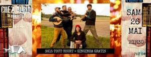 Ginginha Gratis + 3615 Tout court @ La Guinguette Chez Alriq | Bordeaux | Nouvelle-Aquitaine | France