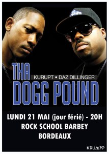 Tha Dogg Pound en concert à Bordeaux @ rock school barbey | Bordeaux | Nouvelle-Aquitaine | France