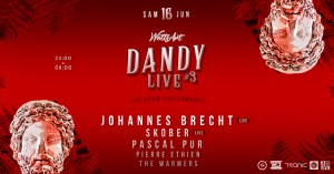 W A T T S A R T #3 DANDY Live - Warehouse @ Espace DS | Bordeaux | Nouvelle-Aquitaine | France
