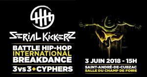 SERIAL KICKERZ #5 Battle international de danse hip hop @ Le Champ de foire | Saint-André-de-Cubzac | Nouvelle-Aquitaine | France