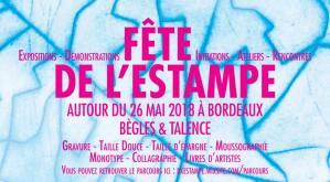 Fête de l'estampe 2018 - Parcours dans bordeaux sur les deux rives @ Bordeaux | Bordeaux | Nouvelle-Aquitaine | France