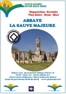 ABBAYE DE LA SAUVE MAJEURE visite guidée @ Abbaye de la Sauve-Majeure | Paris | Île-de-France | France