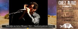 CadiJo en trio (Blues / Fr) @ La guinguettet Chez Alriq | Bordeaux | Nouvelle-Aquitaine | France
