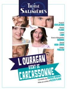 L'OURAGAN VIENT DE CARCASSONNE @ Théâtre des Salinières | Bordeaux | Nouvelle-Aquitaine | France