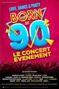 Born in 90 @ Bordeaux Métropole Arena | Floirac | Nouvelle-Aquitaine | France