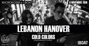 Microkosm • IBOAT invitent Lebanon Hanover, Cold Colors @ IBOAT | Bordeaux | France