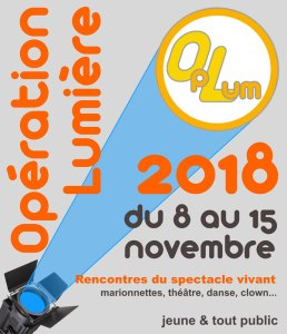 Opération Lumière 2018 (Rencontres du spectacle vivant en familles) @ salle des fêtes   La Brède   Nouvelle-Aquitaine   France