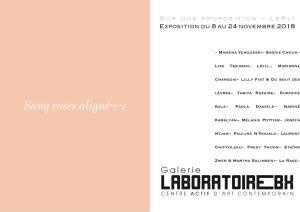 Sang roses aligné·e·s // LePli au Laboratoire Bx @ Laboratoire Bx | Bordeaux | Nouvelle-Aquitaine | France
