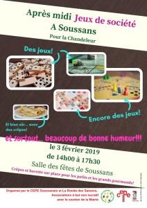 Après-midi Jeux de société @ Salle des fêtes | Soussans | Nouvelle-Aquitaine | France