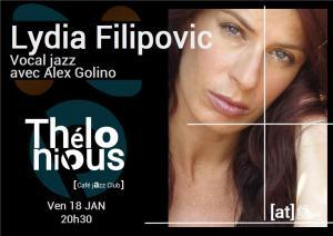 Lydia Filipovic quartet avec Alex Golino @ Thélonious Café Jazz Club | Bordeaux | Nouvelle-Aquitaine | France