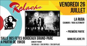 Relache #10 : La Ruda @ La Salle des Fêtes Bordeaux Grand Parc | Bordeaux | Nouvelle-Aquitaine | France
