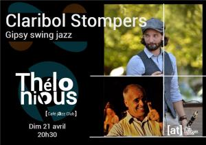 Claribol Stompers (Gypsy Jazz / Swing manouche) @ Thélonious Café Jazz Club | Bordeaux | Nouvelle-Aquitaine | France