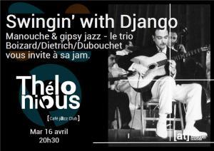 Swingin' with Django ( Jam JazzManouche) @ Thélonious Café Jazz Club | Bordeaux | Nouvelle-Aquitaine | France