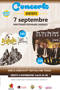 Concert Soul/Jazz/Rock et Food Trucks @ Route de la Raffette | Montussan | Nouvelle-Aquitaine | France